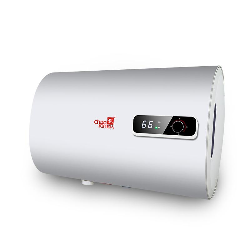 超人电热水器 DBZF-80A-A9 三级闪断防电闸 超长防电墙 循环杀菌 双胆速热储水式 家用50升60升80升