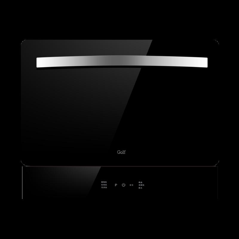 超人(chaoren)洗碗机 三重过滤 全方位旋喷 台嵌两用式