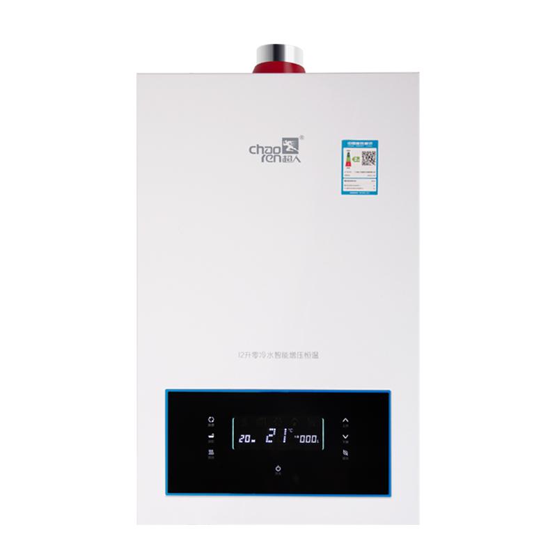 超人(chaoren)XHT零冷水系列16升燃气热水器家用智能触控精准控温多重安全保护智能增压